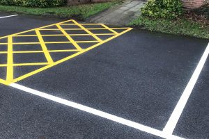 Road Line Marking Company in Thrybergh