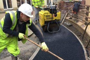 Commercial Tarmac Surface Batley