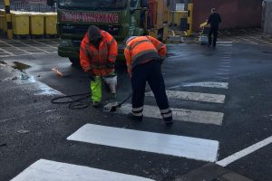 Caistor Safety Line Marking